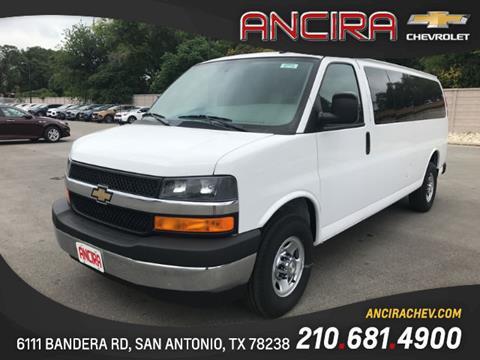 2017 Chevrolet Express Passenger for sale in San Antonio, TX