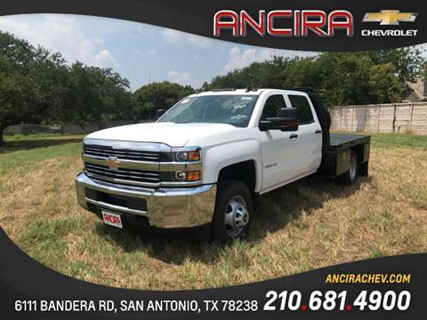 2017 Chevrolet Silverado 3500HD CC for sale in San Antonio, TX