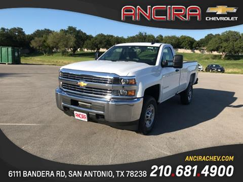 2017 Chevrolet Silverado 2500HD for sale in San Antonio, TX