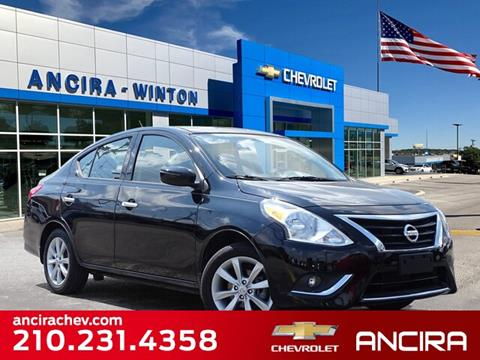 2017 Nissan Versa for sale in San Antonio, TX