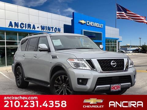 2018 Nissan Armada for sale in San Antonio, TX