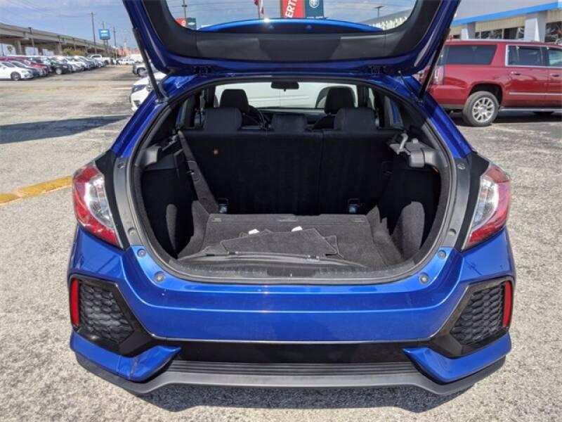 2017 Honda Civic EX 4dr Hatchback - San Antonio TX