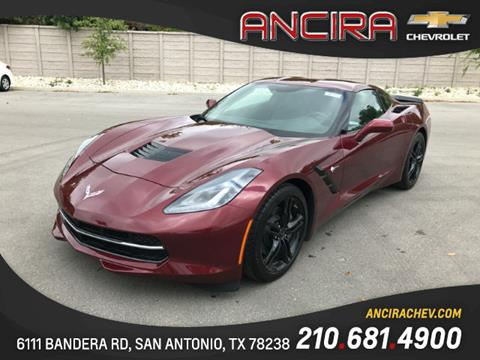 2017 Chevrolet Corvette for sale in San Antonio, TX
