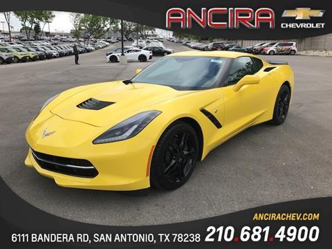 2017 Chevrolet Corvette for sale in San Antonio, TX