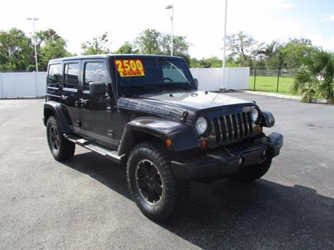 2012 Jeep Wrangler Unlimited for sale in Maitland, FL