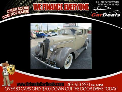 1936 Plymouth Deluxe for sale in Maitland, FL