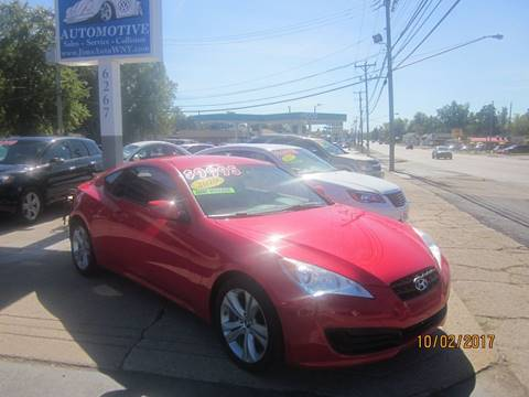 2010 Hyundai Genesis Coupe for sale in Depew, NY