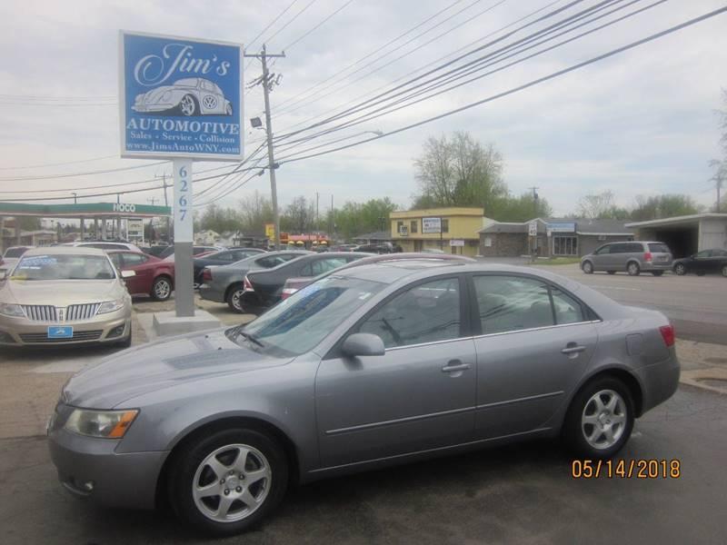 2006 Hyundai Sonata GLS 4dr Sedan   Depew NY