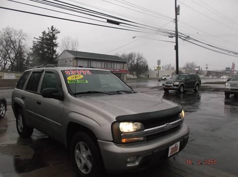 2003 Chevrolet TrailBlazer for sale in Depew, NY