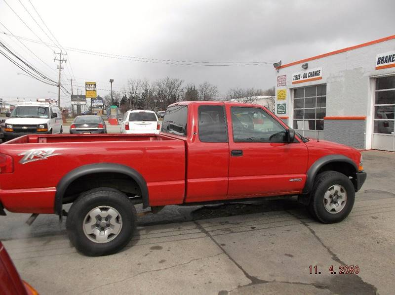 2003 Chevrolet S-10 3dr Extended Cab LS ZR2 4WD SB - Depew NY