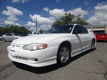 2001 Chevrolet Monte Carlo for sale in Albuquerque, NM