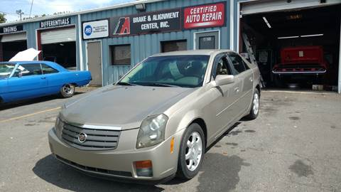 2003 Cadillac CTS for sale at B & A Automotive Sales in Charlotte NC