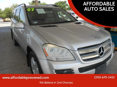 used mercedes benz gl class for sale in san antonio tx. Black Bedroom Furniture Sets. Home Design Ideas
