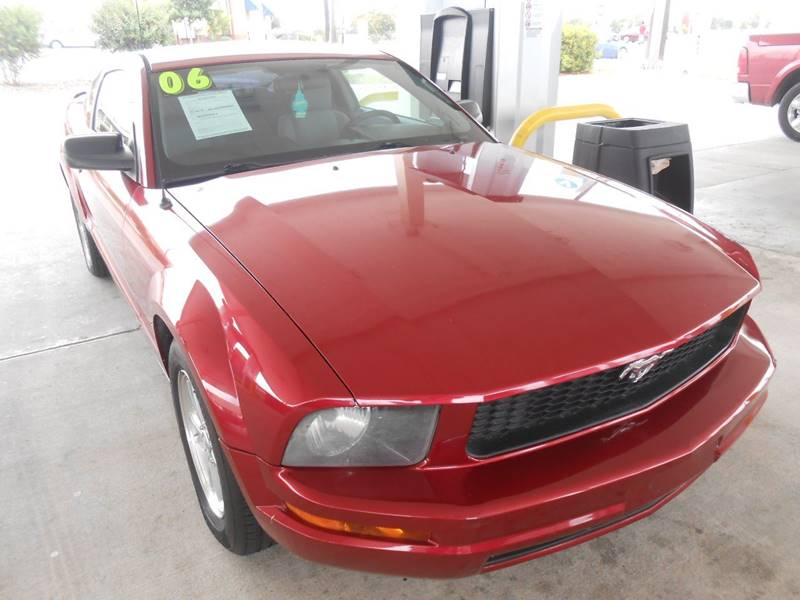 2006 Ford Mustang V6 Standard 2dr Coupe - San Antonio TX