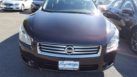 2014 Nissan Maxima for sale in Baltimore MD