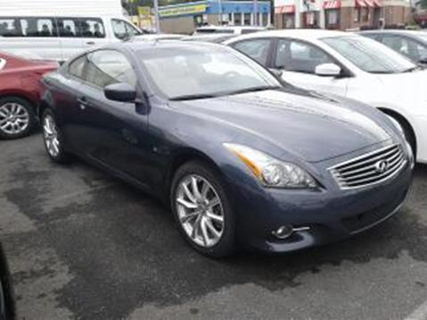2014 Infiniti Q60 Coupe for sale in Baltimore MD