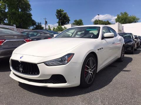 2016 Maserati Ghibli for sale at Bay Motors Inc in Baltimore MD