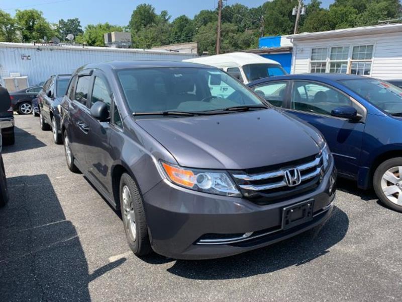 2015 Honda Odyssey for sale at Bay Motors Inc in Baltimore MD