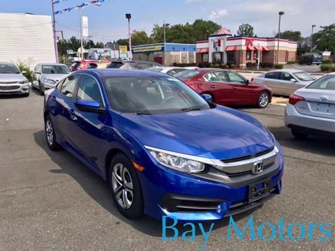 2016 Honda Civic for sale at Bay Motors Inc in Baltimore MD