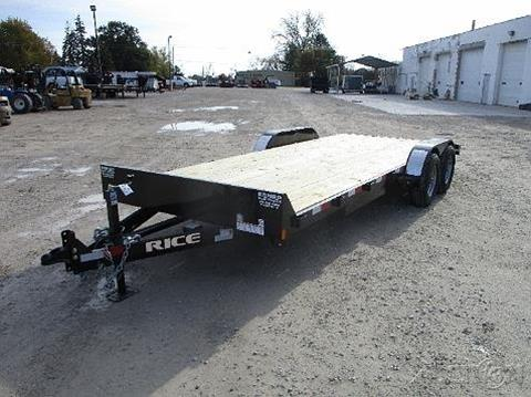 2018 Rice Trailers  Equipment FMCMR8220