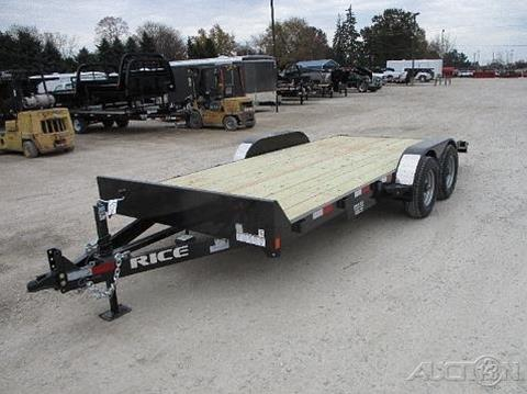 2018 Rice Trailers  Equipment FMCMR8218