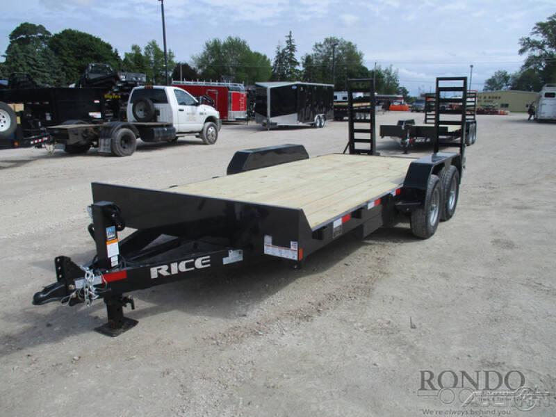 2020 Rice Trailers Equipment FMEMR8218