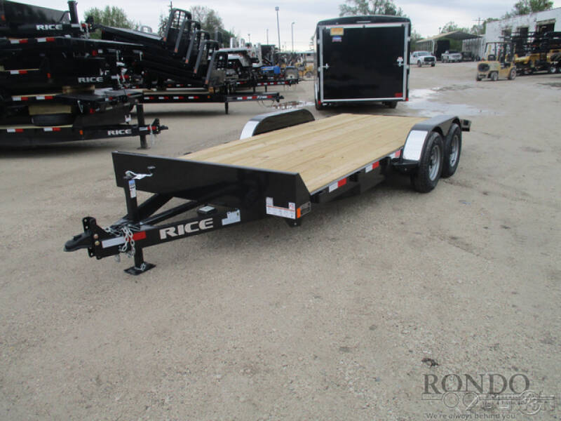 2019 Rice Trailers Equipment FMCMR8218