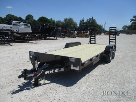 2020 Rice Trailers Equipment FMEMR8220 for sale at Rondo Truck & Trailer in Sycamore IL