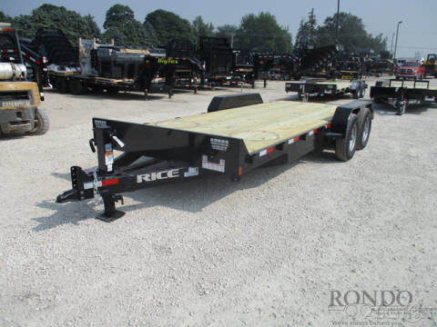 2020 Rice Trailers Equipment FMEHR8220 for sale at Rondo Truck & Trailer in Sycamore IL