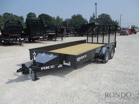 2020 Rice Trailers Utility TST8216 for sale in Sycamore, IL