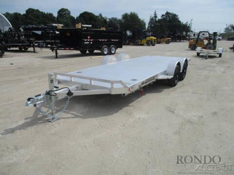 2020 Aluma Car Hauler 8220-LP-TILT for sale at Rondo Truck & Trailer in Sycamore IL