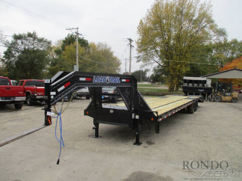 2020 Load Trail Gooseneck GP0240102SS for sale at Rondo Truck & Trailer in Sycamore IL