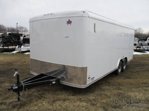 2021 US Cargo Enclosed Car Hauler TSPP8520TA for sale at Rondo Truck & Trailer in Sycamore IL