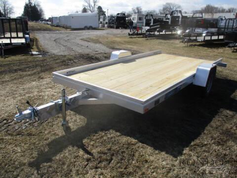 2021 Aluma Aluminum Single Axle Utility 7 for sale at Rondo Truck & Trailer in Sycamore IL