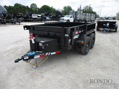 2021 PJ Trailer D5 Dump D5B1052BSSKR for sale at Rondo Truck & Trailer in Sycamore IL