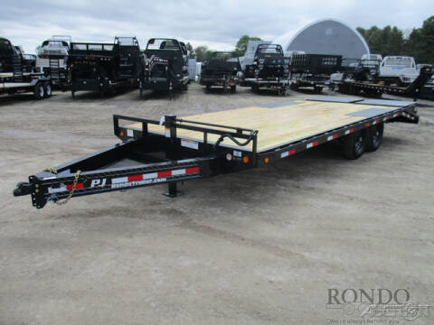 2020 PJ Trailer F8 Equipment Deckover F8J2272B for sale at Rondo Truck & Trailer in Sycamore IL