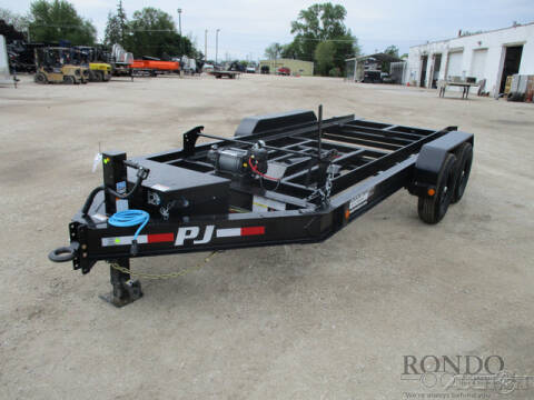 2021 PJ Trailer DR Dump DRP1472BSSK for sale at Rondo Truck & Trailer in Sycamore IL