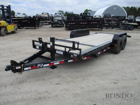2020 PJ Trailer TJ Equipment Tilt TJT2082BSTTK for sale at Rondo Truck & Trailer in Sycamore IL