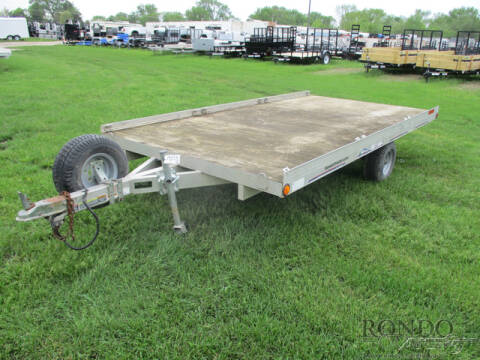 2005 Triton Aluminum Single Axle Utility for sale at Rondo Truck & Trailer in Sycamore IL