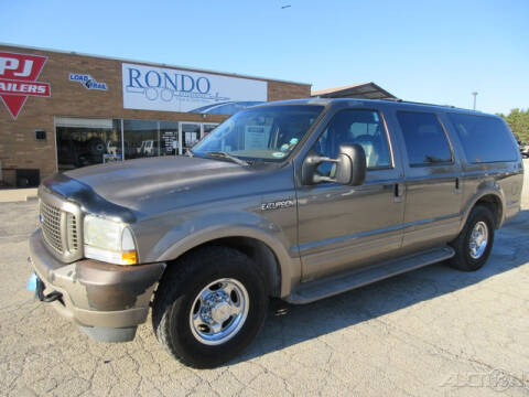 2003 Ford Excursion for sale at Rondo Truck & Trailer in Sycamore IL
