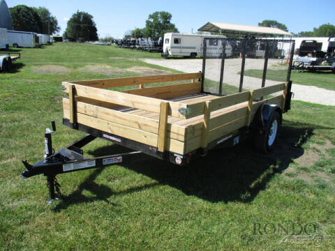 2020 Liberty Single Axle Utility LU3K78X12C for sale at Rondo Truck & Trailer in Sycamore IL
