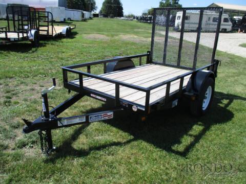 2020 Liberty Single Axle Utility LU3K60X8C4 for sale at Rondo Truck & Trailer in Sycamore IL