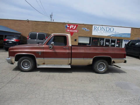 1982 Chevrolet C/K 10 Series for sale at Rondo Truck & Trailer in Sycamore IL