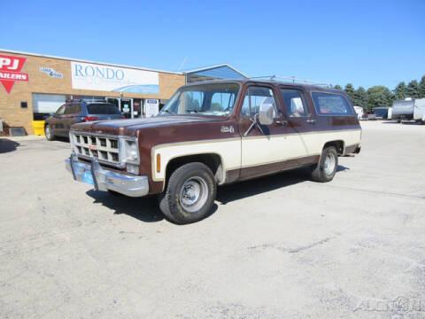 1977 GMC Suburban for sale at Rondo Truck & Trailer in Sycamore IL