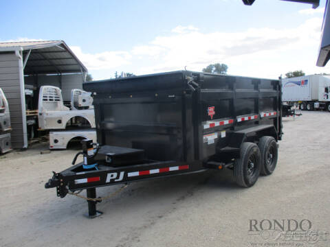2021 PJ Trailer DM Dump DMA1272BSSK for sale at Rondo Truck & Trailer in Sycamore IL