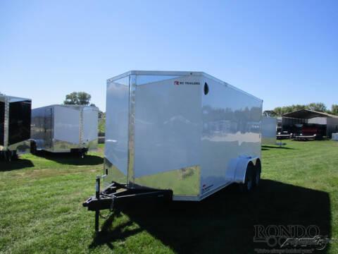 2021 RC Trailers Enclosed Cargo RDLX 7X16TA3 for sale at Rondo Truck & Trailer in Sycamore IL