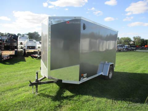 2021 RC Trailers Enclosed Cargo RDLX 6X12SA for sale at Rondo Truck & Trailer in Sycamore IL