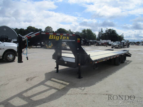2021 Big Tex Gooseneck 22GN-20BK+5 for sale at Rondo Truck & Trailer in Sycamore IL