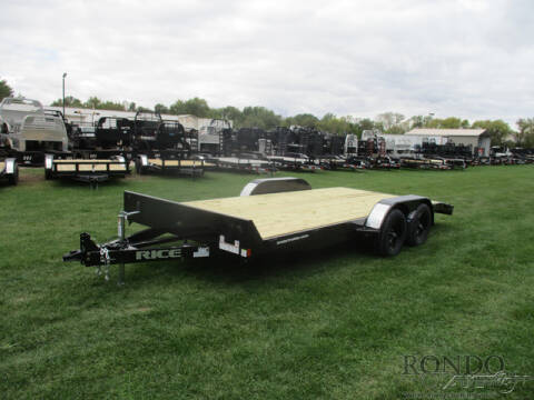 2021 Rice Trailers Car Hauler FMCR8218 for sale at Rondo Truck & Trailer in Sycamore IL
