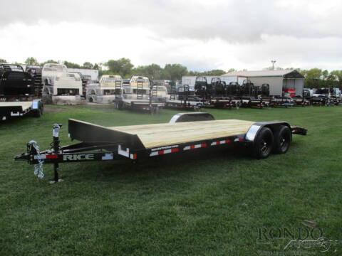 2021 Rice Trailers Equipment FMCMR8220 for sale at Rondo Truck & Trailer in Sycamore IL